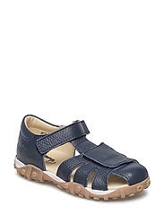 ECOLOGICAL HAND MADE Closed Sandal - 10-FLOAT. NAVY