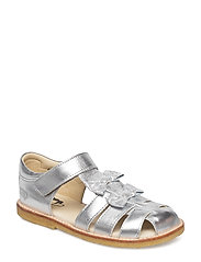 ECOLOGICAL HAND MADE Closed Sandal - 01-SILVER