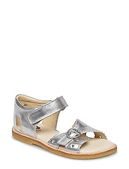 ECOLOGICAL HAND MADE Open Sandal - 04-SILVER
