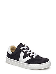 ECOLOGICAL HAND MADE Sneaker - 01-SUED. BLACK
