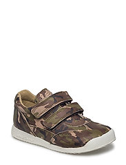 ECOLOGICAL SNEAKER, EXTRA WIDE FIT - 39-ARMY
