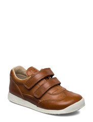 ECOLOGICAL SNEAKER, EXTRA WIDE FIT - 75-COGNAC