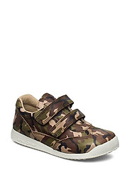 ECOLOGICAL SNEAKER, EXTRA WIDE FIT - 85-GREEN ARMY