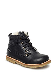 ECOLOGICAL HAND MADE Water proof Low Boot - 06-BLACK