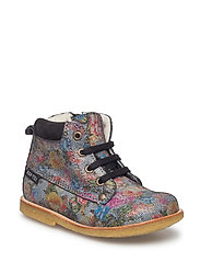 ECOLOGICAL HAND MADE Water proof Low Boot - 13-FLOWER MULTI