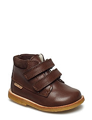 Tex Boot with velcro - 36-DK. BROWN