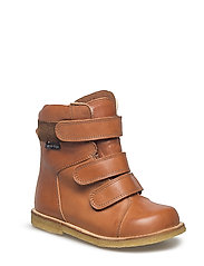 HAND MADE LOW BOOT - 25-TUSC. COGNAC