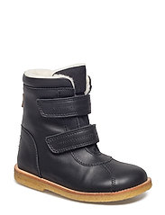 Tex Boot with velcro - 58-BLACK