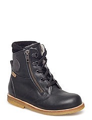 ECOLOGICAL HAND MADE Water proof Low Boot - 04-BLACK