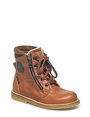 ECOLOGICAL HAND MADE Water proof Low Boot - 05-TUSC. COGNAC