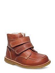 ECOLOGICAL HAND MADE Water proof Boot - 16-COGNAC