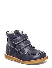 ECOLOGICAL HAND MADE Water proof Boot - 34-NAVY