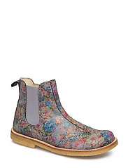 HAND MADE LOW BOOT - 25-FLOWER MULTI