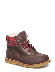 ECOLOGICAL HAND MADE Water proof Boot - 09-DK. BROWN