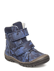 ECOLOGICAL HAND MADE Water proof Boot - 20-ARMY NAVY