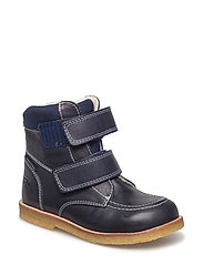 ECOLOGICAL HAND MADE Water proof Low Boot - 14 CM-NAVY