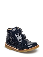 ECOLOGICAL HAND MADE Low Boot - 03-PAT. NAVY