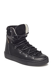 HAND MADE LOW BOOT - 01-BLACK