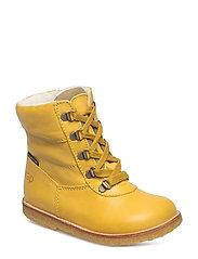 Tex Boot with Zip - 28-YELLOW