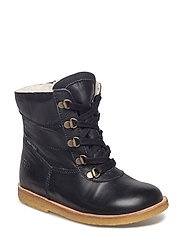 Tex Boot with Zip - 30-BLACK