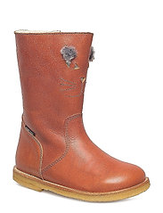 HAND MADE BOOT - 01-TUSC. COGNAC
