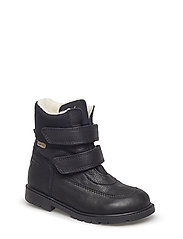Tex Boot with velcro - 17-BLACK
