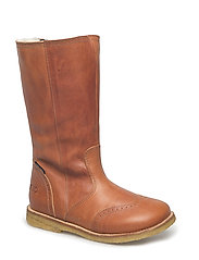 ECOLOGICAL Water proof High Boot - 13-TUSC. COGNAC