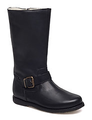 ECOLOGICAL HAND MADE Water proof High Boot - 01-BLACK