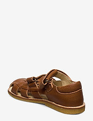 Arauto RAP - ECOLOGICAL CLOSED SANDAL, FOR EXTRA WIDE FEETS - sandały - 39-cognac - 2