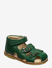 Hand Made Sandal - 37-GREEN