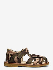 Arauto RAP - ECOLOGICAL CLOSED SANDAL, NARROW FIT - sandales - 37-green army - 1