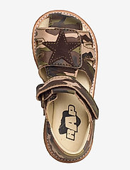Arauto RAP - ECOLOGICAL CLOSED SANDAL, NARROW FIT - sandales - 37-green army - 3