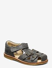 Arauto RAP - ECOLOGICAL CLOSED RETRO SANDAL, MEDIUM/WIDE FIT - sandals - 51-grey - 0
