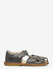Arauto RAP - ECOLOGICAL CLOSED RETRO SANDAL, MEDIUM/WIDE FIT - sandals - 51-grey - 1