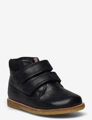 Arauto RAP - Tex Boot with velcro - apavi bērniem, kuri vēl nestaigā - black - 0