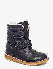 Tex Boot with velcro - 58-BLACK