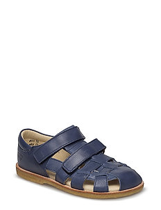 ECOLOGICAL CLOSED SANDAL, FOR EXTRA WIDE FEETS - 32-NAVY