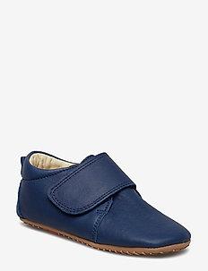 ECOLOGICAL HAND MADE Baby Shoe - tøfler - 04-blue