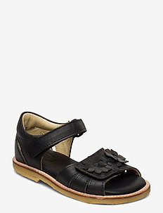 ECOLOGICAL OPEN SANDAL, WIDE WIDTH - sandals - 08-black