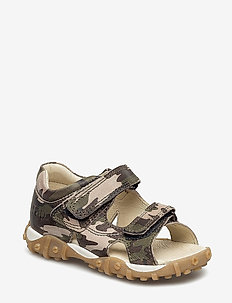 ECOLOGICAL OPEN TOE SANDAL, MEDIUM FIT - 41-ARMY