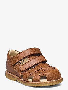 Hand Made Sandal - sandalen met riempjes - cognac