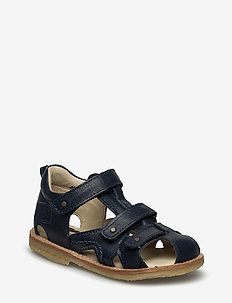 ECOLOGICAL CLOSED SANDAL, NARROW FIT - sandals - 21-navy
