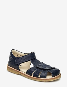 ECOLOGICAL CLOSED SANDAL, NARROW FIT - sandales - 15-navy