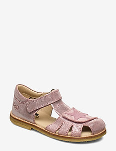 ECOLOGICAL CLOSED SANDAL, NARROW FIT - sandals - 35-comet berry