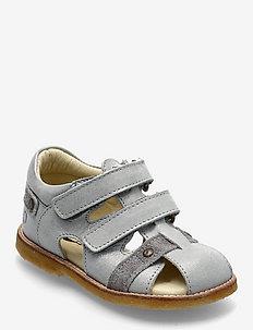 HAND MADE SANDAL - sandalen met riempjes - star silver