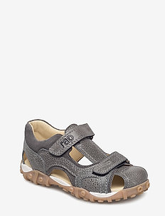 ECOLOGICAL HAND MADE Closed Sandal, Wide fit - sandals - 02-rimi grey