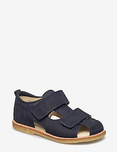 ECOLOGICAL HAND MADE Closed Sandal - sandals - 01-nob.navy