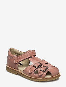 ECOLOGICAL CLOSED RETRO SANDAL, MEDIUM/WIDE FIT - sandals - 55-eco pink