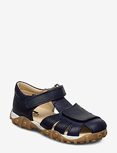 ECOLOGICAL HAND MADE Closed Sandal - sandals - 19-navy