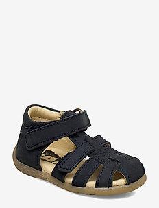HAND MADE SANDAL - sandals - 01-navy nobuk